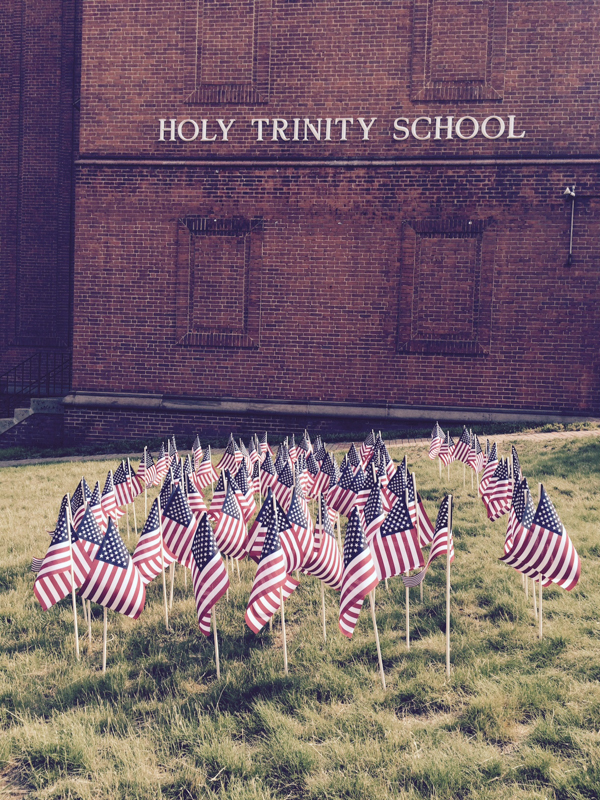 Holy Trinity Flags